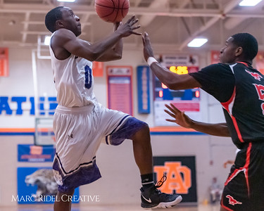 Broughton boys varsity basketball vs Middle Creek. January 21, 2019. 750_5190