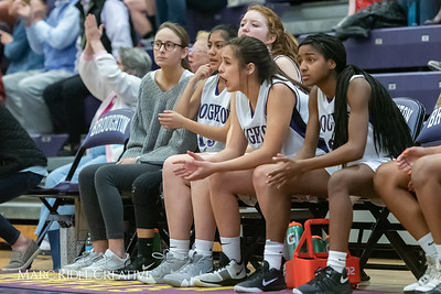 Broughtongirls JV basketball vs Millbrook. February 14, 2019. 750_7033