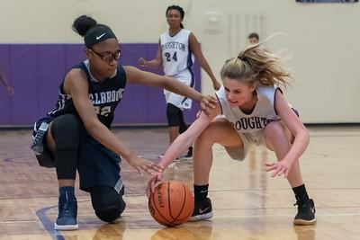 Broughtongirls JV basketball vs Millbrook. February 14, 2019. 750_6976