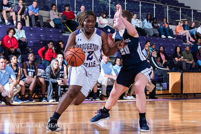Broughton girls varsity basketball vs Millbrook. February 15, 2019. 750_7290