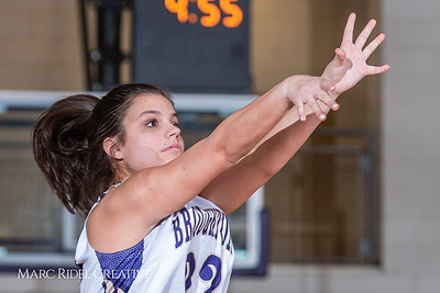 Broughton girls varsity basketball vs Millbrook. February 15, 2019. 750_7337