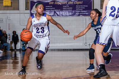 Broughton girls varsity basketball vs Millbrook. February 15, 2019. 750_7347