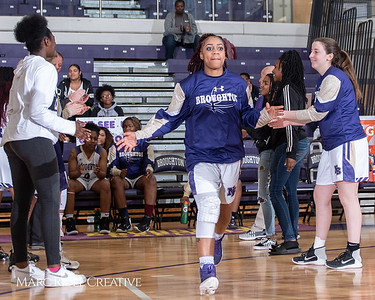 Broughton girls varsity basketball vs Millbrook. February 15, 2019. 750_7236