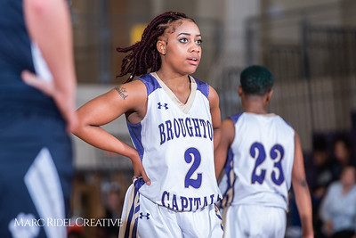 Broughton girls varsity basketball vs Millbrook. February 15, 2019. 750_7334