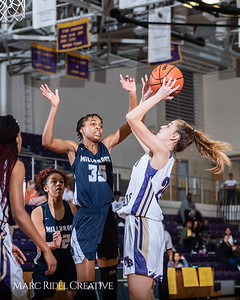 Broughton girls varsity basketball vs Millbrook. February 15, 2019. 750_7277