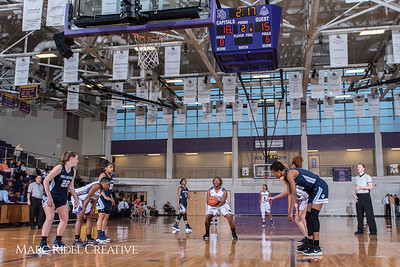 Broughton girls varsity basketball vs Millbrook. February 15, 2019. 750_7305