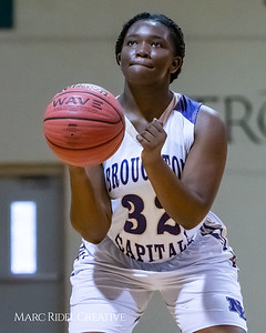 Broughton girls varsity basketball vs Rolesville. MRC_8699