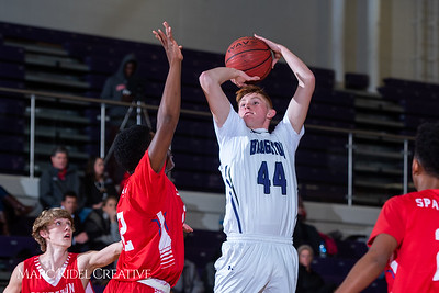 Broughton boys JV basketball vs Sanderson. February 11, 2019. 750_5605