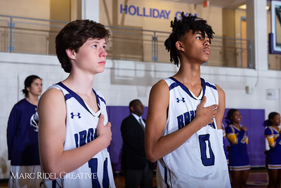 Broughton boys JV basketball vs Sanderson. February 11, 2019. 750_5560