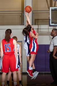 Broughton girls JV basketball vs Sanderson. February 11, 2019. 750_5202