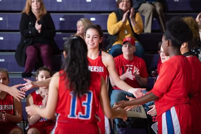 Broughton girls JV basketball vs Sanderson. February 11, 2019. 750_5183