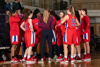 Broughton girls JV basketball vs Sanderson. February 11, 2019. 750_5180