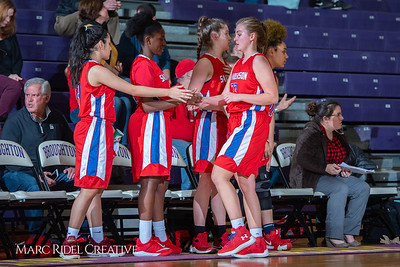 Broughton girls JV basketball vs Sanderson. February 11, 2019. 750_5242