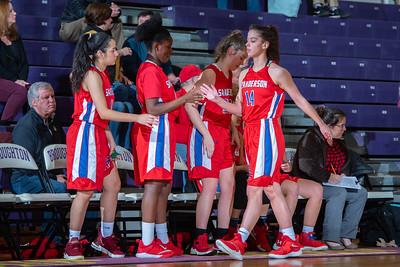 Broughton girls JV basketball vs Sanderson. February 11, 2019. 750_5243