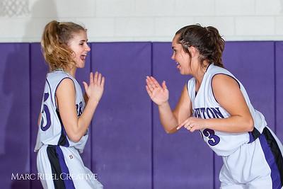 Broughton girls JV basketball vs Sanderson. February 11, 2019. 750_5194
