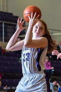 Broughton girls JV basketball vs Sanderson. February 11, 2019. 750_5234