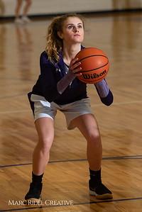 Broughton girls JV basketball vs Sanderson. February 11, 2019. 750_5135