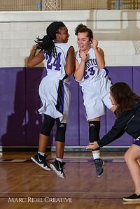 Broughton girls JV basketball vs Sanderson. February 11, 2019. 750_5193