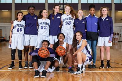 Broughton girls JV basketball vs Sanderson. February 11, 2019. 750_5144