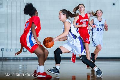 Broughton girls JV basketball vs Sanderson. February 11, 2019. 750_5269