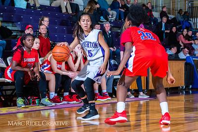 Broughton girls JV basketball vs Sanderson. February 11, 2019. 750_5275