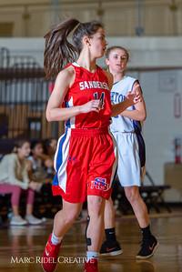 Broughton girls JV basketball vs Sanderson. February 11, 2019. 750_5215