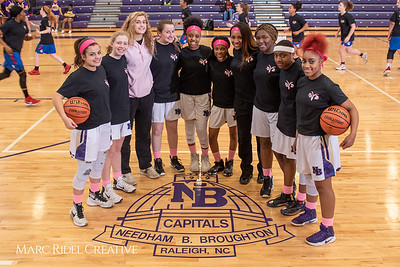 Broughton girls varsity basketball vs Sanderson. Play 4 Kay. January 17, 2019. 750_4248