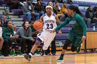 Broughton girls varsity vs. Southeast Raleigh. January 15, 2019. MRC_1516