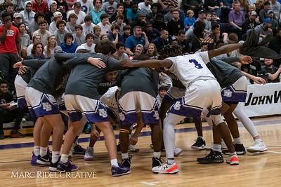 Broughton boys varsity basketball vs Trinity. MRC_9258