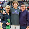 Broughton basketball senior night and Coach Farrell appreciation. February 15, 2019. 750_7427