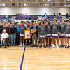 Broughton basketball senior night and Coach Farrell appreciation. February 15, 2019. 750_7486