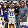 Broughton basketball senior night and Coach Farrell appreciation. February 15, 2019. 750_7421