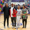 Broughton basketball senior night and Coach Farrell appreciation. February 15, 2019. 750_7410