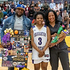 Broughton basketball senior night and Coach Farrell appreciation. February 15, 2019. 750_7416