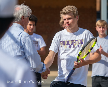 Broughton tennis vs Cardinal Gibbons. April 4, 2019. D4S_1688