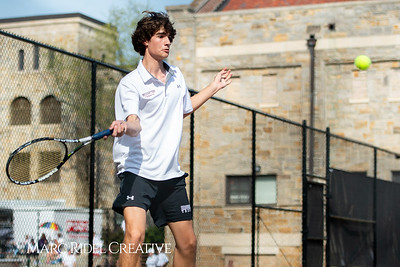 Broughton tennis vs Cardinal Gibbons. April 4, 2019. MRC_5984