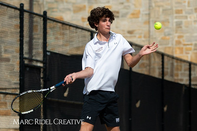 Broughton tennis vs Cardinal Gibbons. April 4, 2019. MRC_6030
