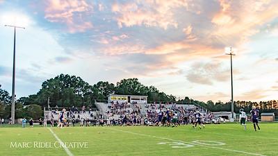 Broughton varsity football vs Southeast Raleigh. September 28, 2018.