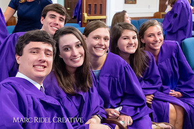 Broughton Class of 2019 Baccalaureate at Edenton Street United Methodist Church. June 9, 2019. 750_4933
