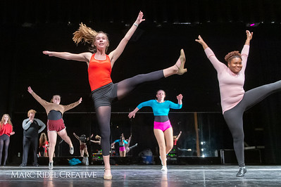 A Chorus Line rehearsal. March 1, 2019. D4S_2710