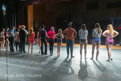 A Chorus Line rehearsal. March 1, 2019. D4S_2735