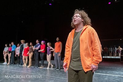 A Chorus Line rehearsal. March 1, 2019. D4S_2724