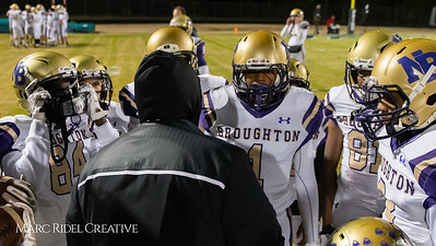 Broughton football at Leesville. 4AA Playoffs round 2. November 23, 2018, MRC_9683