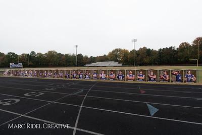 Broughton football vs Leesville. Senior Night. November 9, 2108.