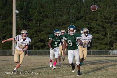 Broughton JV football vs. Southeast Raleigh. October 22, 2018.