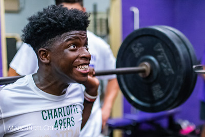 Broughton football day one of summer practice. June 11, 2018.