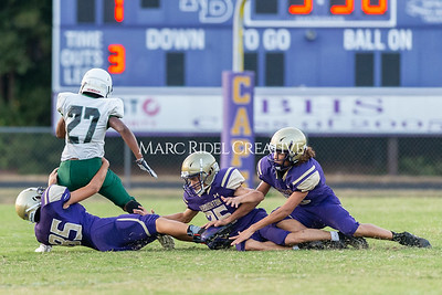 Broughton JV football vs Southeast Raleigh. October 3, 2019. D4S_4199
