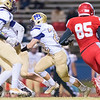 Broughton varsity football vs Sanderson. October 27, 2017.