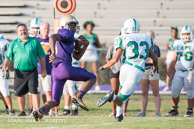The Broughton JV football team defeated Cary 21-8. August 30, 2017.