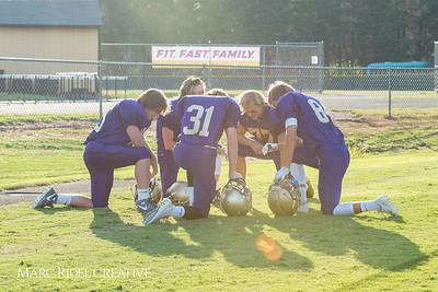 The Broughton JV football team defeated Cary 21-8. August 30, 2017.